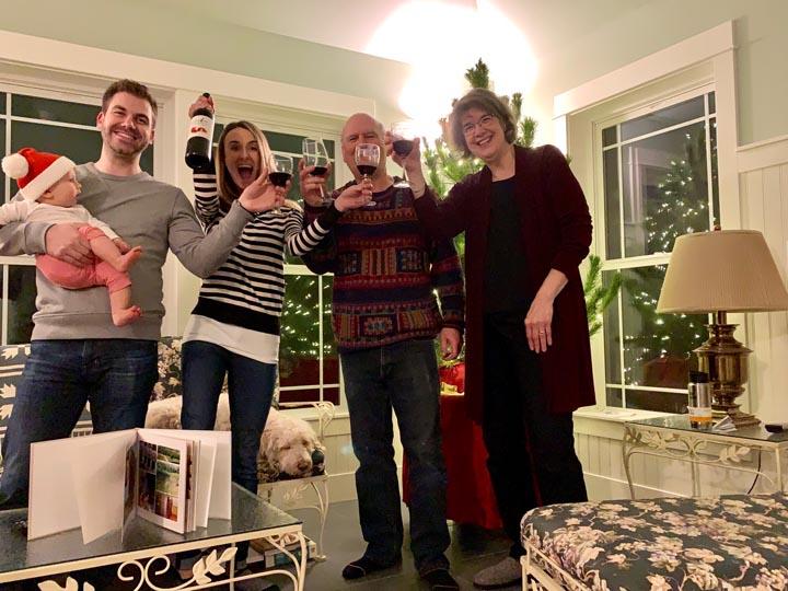 NICOLE, DAVID, GRAYSON, TOM AND CAROL